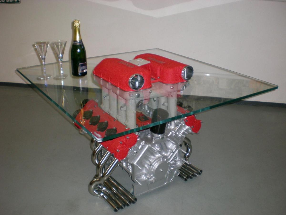Einzigartig table basse jante id es de conception de for Decoration maison automobile