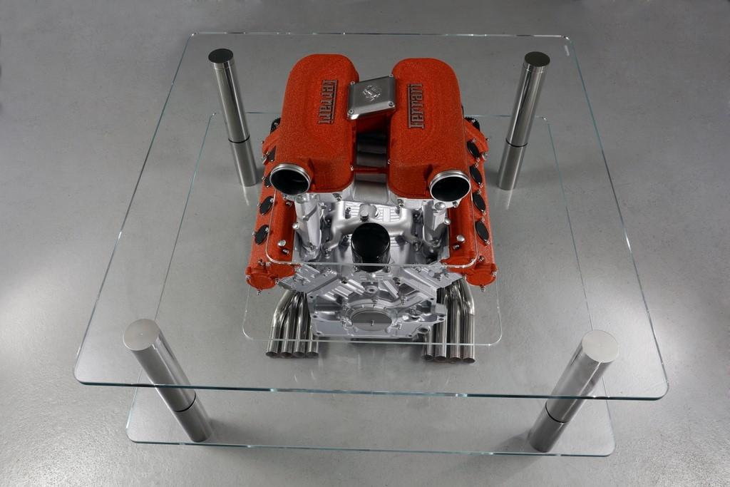 Gervadino Design Table Basse Et Accessoires Deco Moteur